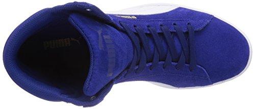 Puma Vikky Mid, Baskets mode femme Bleu (Clematis Blue/White 06)