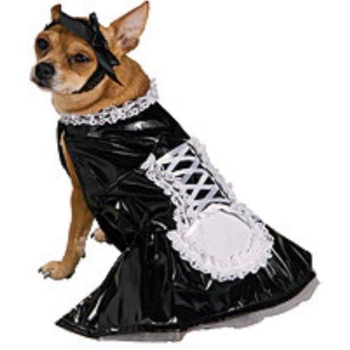Pet Halloween-Kostüm, Medium, Schwarz (Halloween Kostüme Maid)
