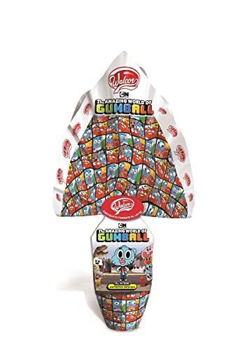UOVO DI PASQUA THE AMAZING WORLD OF GUMBALL CIOCCOLATO AL LATTE CON SORPRESA 240 GRAMMI