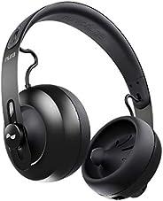 nuraphone - Auriculares de diadema inalámbricos Bluetooth con audífonos intraaurales, sonido personalizado, ca