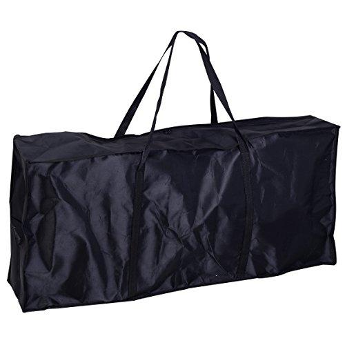 Tisch klappbar – Tragbarer Nageltisch mit Tasche und Handgelenkauflage - 5