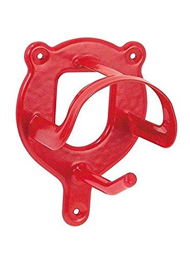 Trensenhalter, Metall, rot, Einheitsgröße,