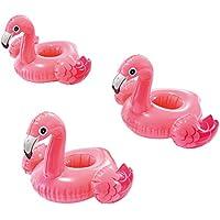 Intex 57500 Set 3 Posavasos Flamingo +3A, 33 x 25 Cm, Multicolor,