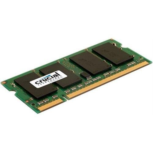 Unbuffered-200-pin-sodimm-speicher (Crucial ct2g2s667 m 2 GB DDR2 SDRAM Modul Speicher - 2 GB (1 x 2 GB) - DDR2 SDRAM - 667 MHz DDR2-667/PC2-5300-1,80 V - Non-ECC - unbuffered - 200-PIN SODIMM)