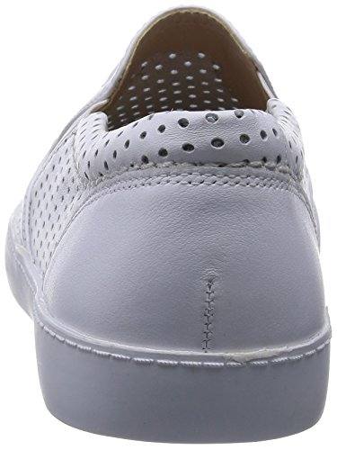 Clarks Glove Puppet White Leather Blanc (White Leather)