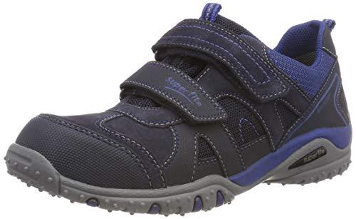 Superfit Jungen SPORT4 Sneaker, Blau (Blau/Blau 80), 33 EU