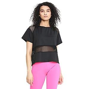 CHKOKKO Women's Round Neck Dry Fit Gym Sports T-Shirt