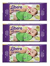 Libero Baby Wet Wipes - 240 Counts