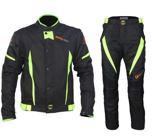 ZZKK Moto Jersey Ciclismo Inverno, Bici Manica Lunga Veloce Uomo Asciutto Ciclismo Abbigliamento,XXL