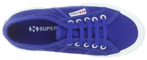 Superga 2750-JCOT CLASSIC S0003C0 Unisex-Kinder Sneaker Blau (G88 Intense Blue)