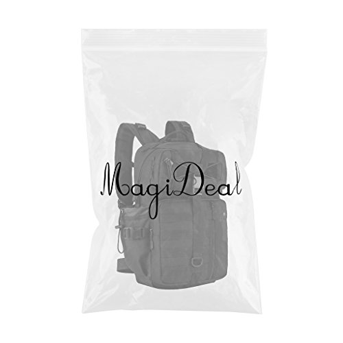 MagiDeal 30 Liter Molle Rucksack Erwachsene taktischer Rucksack Outdoor Sport Backpack Wanderrucksack Trekkingrucksack Reiserucksack Schwarz