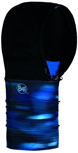 BUFF+UP Set - Buff Windproof Hoodie Patterned Kapuze + Ultrapower Schlauchtuch | Atmungsaktiv | Antibakteriell | Geruchshemmend | Merino, Buff 2018:Windproof Hoodie Patterned - 118137.707.10.00