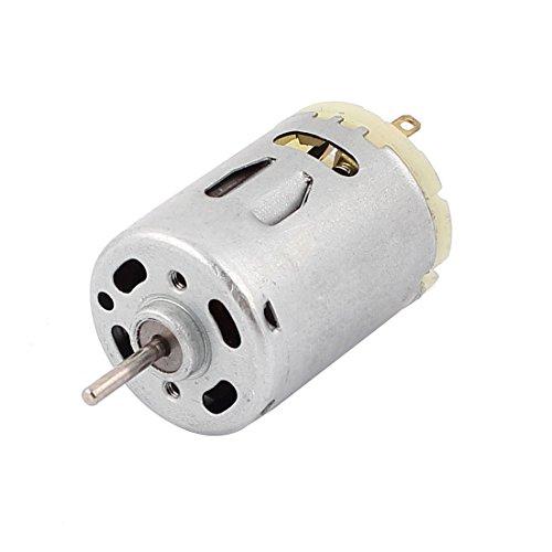 sourcingmap DC 12-24V 10000RPM 2,3mm Welle Durchmesser Magnetisch Elektromotor Ersatz