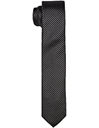 CASAMODA Herren Krawatte 352318400, Gestreift