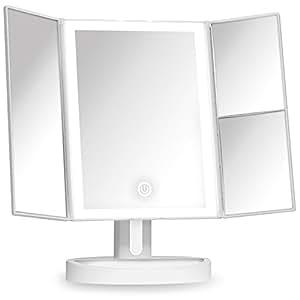 fancii kosmetikspiegel mit nat rlichem led licht. Black Bedroom Furniture Sets. Home Design Ideas