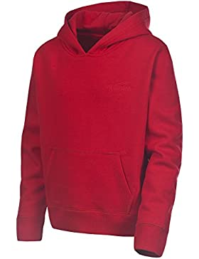 Trespass Whelan - Sudadera, color rojo, talla UK: Talla 2/3