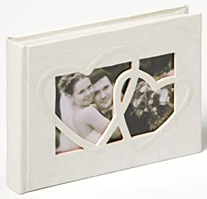 """Walther FA-123 Album photo mariage """"Sweet Heart"""" 40 pages 22 x 16 cm Blanc"""