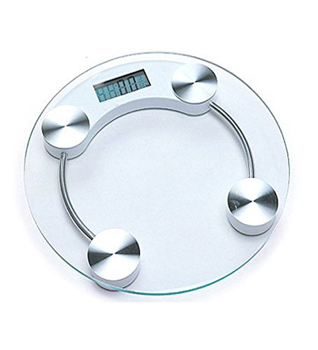 GVC Thick Tempered Glass Electronic Digital Personal Bathroom Health Body Weight Weighing Scale