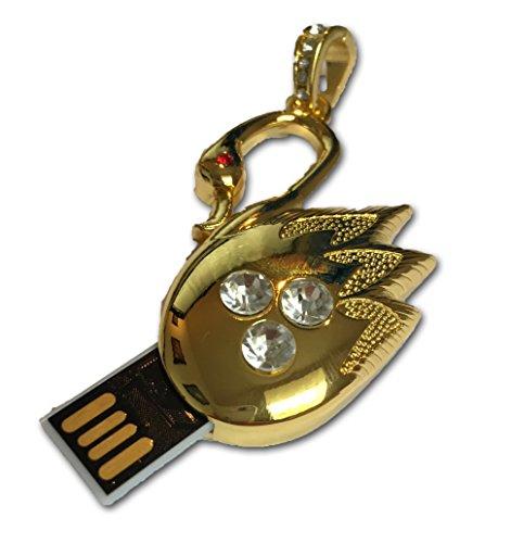 tomax-goldener-schwan-metal-as-a-usb-flash-drive-with-64gb-usb-stick-flash-drive