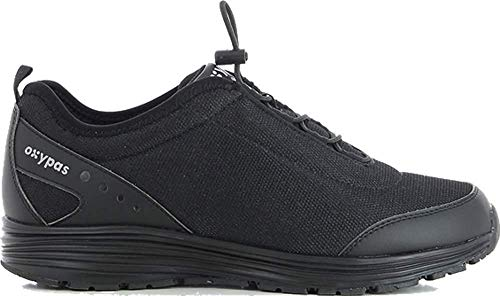 Oxypas James Herren Arbeits- und Sicherheitsschuhe   Sneaker, Farbe: Schwarz, Größe: 43