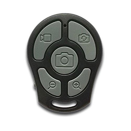 rockfoxoutlet Universal inalámbrico Bluetooth cámara autodisparador mando a distancia, Zoomable Enfoque selfie...