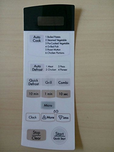 AB369 Microwave Oven Membrane Keypad ABLE Model No - MG1742WE/MB3744W