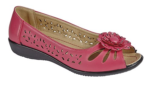 Shoe Tree  Peru,  Damen Sneaker Low-Tops Hot Pink