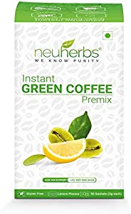 Neuherbs Instant Green Coffee Premix for Weight Management: 30 Sachet