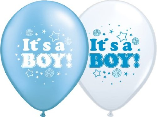 Lot de 10 ballons gonflables Message en anglais \