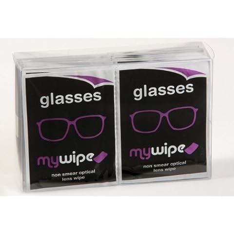 MYWIPE óptico lente y 3d gafas espectáculo gamuza de limpieza toallitas húmedas x 20–* * * FÓRMULA MEJORADA