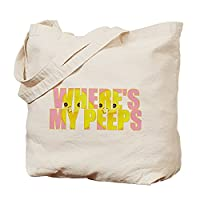 CafePress - Peeps Tote Bag - Natural Canvas Tote Bag, Cloth Shopping Bag