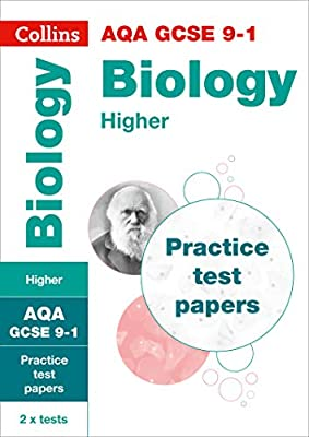 AQA GCSE 9-1 Biology Higher Practice Test Papers (Collins GCSE 9-1 Revision) by Collins