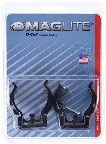 Maglite ASXD026L, Soporte de montaje para linterna, negro, pack de 2