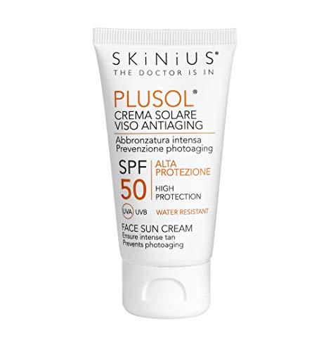 plusol crema solare antiaging spf50