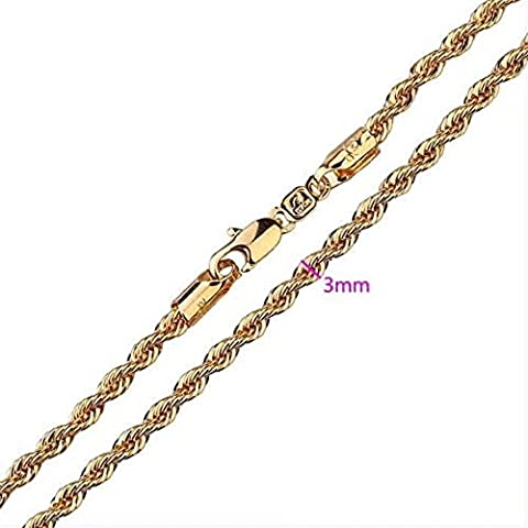 9ct 9K Gold electroplated Men Ladies 18