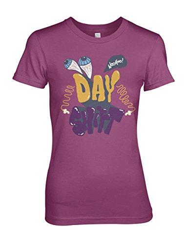 Day Shift Damen T-Shirt Pink