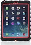 Gumdrop Cases Drop Series Case for iPad Air - Black/Red
