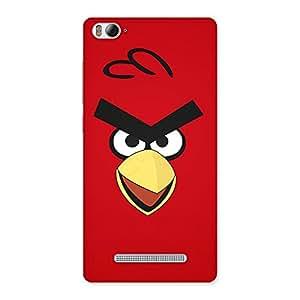 Red Bird Yellow Beak Back Case Cover for Xiaomi Mi4i