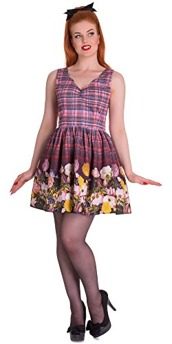 Hell Bunny Kleid COLUMBIA MINI DRESS 4507 Pink