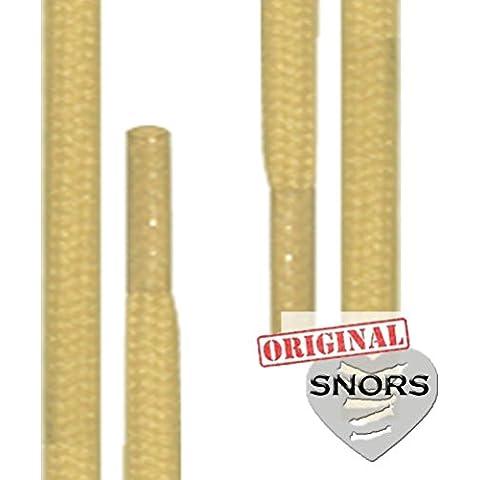 SNORS CORDONES AGUJETAS redondos 26 colores, 4 longitudes, 2-3mm, cordones de los zapatos