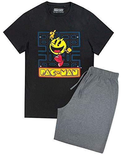 Pac Man Retro Gaming Men's Pyjama Shorts Lounge Set