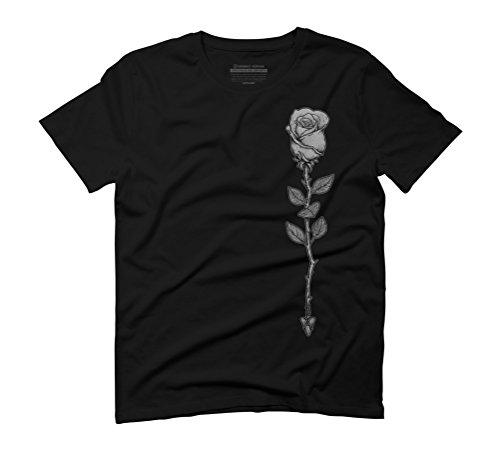 Deadly Love Men's Graphic T-Shirt - Design By Humans Black