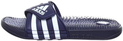 Adidas Santiossage QD, Herren Dusch- & Badeschuhe, Blau (Blau/Weiß), 38 EU (Herstellergröße : 5) -