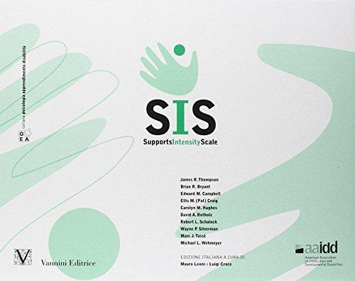 SIS-supports Intensity Scale-Sistema di valutazione dell'intensità dei sostegni necessari alle persone con disabilità kit completo (Gea)