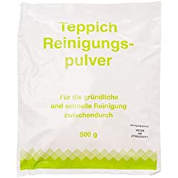 Teppichreinigungspulver pour vorwerk aspirateur nettoyant pour tapis pour ca.20qm citron 500 g