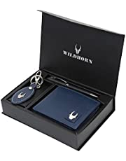 WildHorn Black Men's Wallet (GIFTBOX 152)