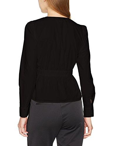 VERO MODA Damen Bluse Schwarz (Black Black)