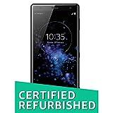 (CERTIFIED REFURBISHED) Sony Xperia XZ2 Dual (Black, 64GB)