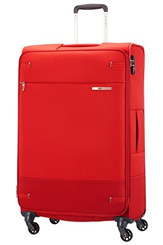 SAMSONITE Base Boost - Spinner 78 Erweiterbar Koffer, 78 cm, 112.5 Liter, Rot (Red)