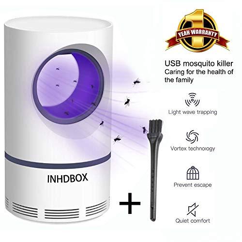 QYHOME Moskito-Mörder, Photokatalysator-Moskito-Mörder, USB-Moskito-Mörderlampen Fliegenfalle-Lampe Insektenschutzmittel Mörder Anti-Mücken Home Wohnzimmer -